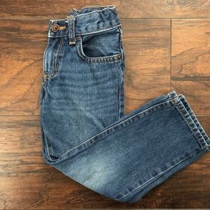 Children's Place Boys Straight Dark Wash Jeans